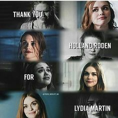 Thank you, Holland for showing us that we shouldn't be afraid of ourselves.