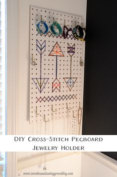 DIY Cross-Stitch Peg