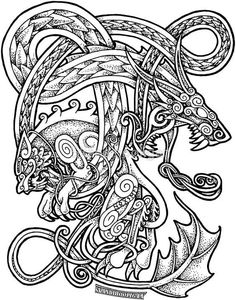 Discover Viking Odin Norse Valhalla Sweatshirt from Viking Online Shirt, a custom product made just for you by Teespring. - Beautiful and quality Viking - Odin - Norse -. Fenrir Tattoo, Norse Tattoo, Celtic Tattoos, Maori Tattoos, Polynesian Tattoos, Viking Dragon Tattoo, Calf Tattoos, Cross Tattoos, Viking Symbols