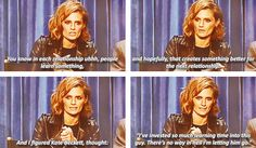 #stana katic about the relationship between beckett and castle  at Panley center for the #castle #panel2013