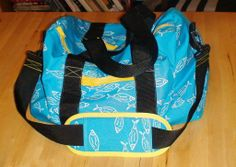The Perfect Duffel Bag : 8 Steps (with Pictures) - Instructables Duffle Bag Patterns, Bag Patterns To Sew, Sewing Patterns, Roller Derby, Coin Purse Wallet, Tote Purse, Coin Purses, Diy Duffle Bag, Duffel Bags