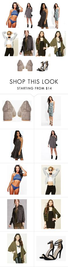 """""""Most powerful weapons of beauty"""" by cate-jennifer ❤ liked on Polyvore featuring Boohoo, Forever 21 and vintage"""