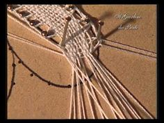 3 corso di tombolo - Margherita - YouTube Pin Weaving, Bruges Lace, Bobbin Lacemaking, Bobbin Lace Patterns, Hairpin Lace, Lace Heart, Point Lace, Lace Jewelry, Needle Lace