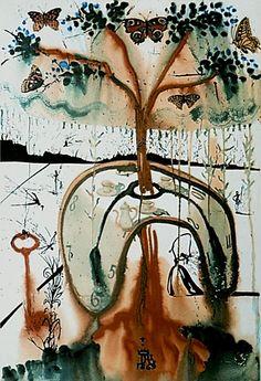 Salvador Dali - Alice in Wonderland - A Mad Tea Party, 1969