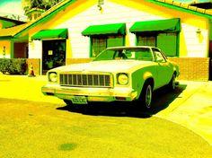 """In the Hood"" by Dietmar Scherf #cars #Warhol #Americana #Route66 #highway #cruising"