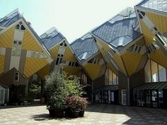 The Cubic Houses in Rotterdam...I've been inside of these houses! So cool!