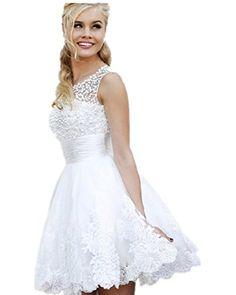 wt48 short WHITE BEADING Wedding Birde dress chiffon full length prom gown SIZE 8 LondonProm http://www.amazon.co.uk/dp/B00KYWK0W2/ref=cm_sw_r_pi_dp_RG5Aub1AB3VDA