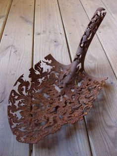 Rusty acquisition, Metal Sculpture by Denice Bizot.