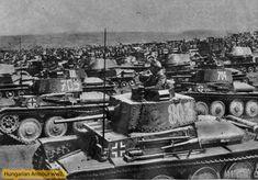 Felsorakozott a haderő.Esztergomtábor. Ww2 Tanks, Panzer, Armored Vehicles, World War Ii, Techno, Wwii, German, Army, Military