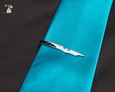 Bat Tie Clip - Groom cufflinks and tie clips (*Amazon Partner-Link)