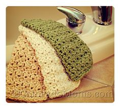 Crochet Washcloth  I truly love these and need to learn how