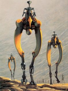 Doug Chiang - March of the Stiltwalkers
