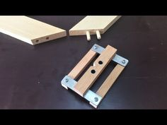 Making a Self-centering Doweling Jig / Kavela Çakma Kılavuzu - YouTube