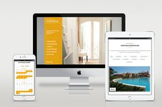 Webseite Responsive Stadthausportocolom on Behance