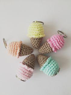 45 Beste Afbeeldingen Van Sleutelhangers Crochet Food Crocheting