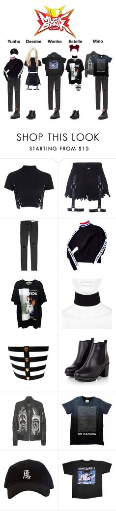 """""""d e b u t s t a g e ;; Butterfly Effect, CHΔOЅ"""" by official-chaos ❤ liked on Polyvore featuring Glamorous, rag & bone, Tommy Hilfiger, River Island, Rick Owens, Fashionvictime and Puma"""