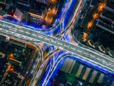 #Overpass in #Urumqi City, #China  #ChinaTravel #Aerial #Photography #Dronephotography #thedronetravel