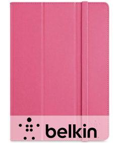 Belkin Tri-Fold Flipcase Apple iPad Air - Roze