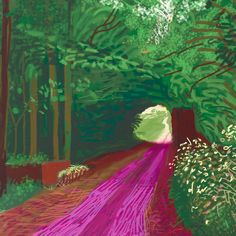 Ahead of a new exhibition, David Hockney talks to William Boyd about the ever-evolving landscape of his art