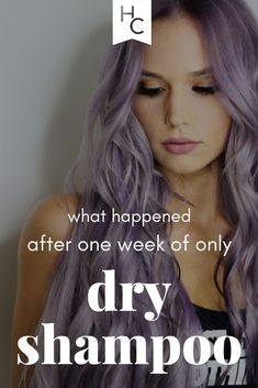While I probably wouldn't go a whole week with just dry shampoo on purpose again, it's nice to know now that it can be done! What Is Purpose, Baby Powder Uses, Using Dry Shampoo, Air Dry Hair, Hair A, About Hair, Natural Oils, Up Hairstyles, Hair Ties