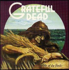 grateful dead album covers | Grateful Dead-Wake of the Flood Cover