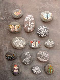 mroe painted stones