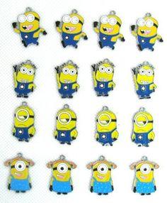 15 PC Despicable Me Minions Cute Mixed Lot of Charms - DIY Jewelry Crafting 8mm Enamel Pendants, http://www.amazon.com/dp/B00HTP5TGO/ref=cm_sw_r_pi_awdm_llEjtb19FPE09