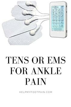 Do you have ankle pain? Have you tried a TENS or EMS device? You can find out what an TENS and EMS device could possiblly do to help you with your ankle, foot, achilles tendon pain. Ankle Pain, Sprained Ankle, Disabled People, Foot Pain, Have You Tried, Help Me, Pain Relief, Ems, Achilles Tendon