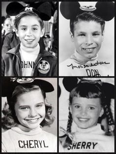 "The Mickey Mouse Club (1955–1959). These were not part of the ""core"" of nine musketeers, but I remember them nonetheless."