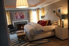 Vivid Hue Home: House Tour: Master Bedroom