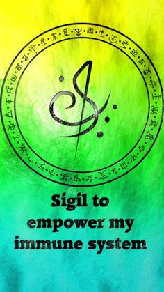 Sigil to empower my immune system sigil request are close. sigil suggestions are open. Wiccan Spell Book, Witch Spell, Wiccan Spells, Magic Spells, Magick, Witchcraft, Wiccan Symbols, Magic Symbols, Symbols And Meanings