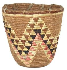 Klickitat (Washington State), Berry Basket, plant fibers, c. 1910.