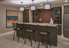 Basement Bar Lighting Ideas Home Bar Transitional With Lancaster County  Nebraska Pendant Lights Over Bar Omaha