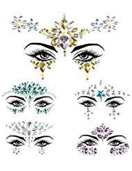 Strass Autocollant Visage Tatouage Glitter Scintillement Bijoux De Corps Pour Des Stickers Cri Avec Images Bijoux Pour Le Visage Strass Autocollant Bijoux Strass