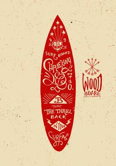 Graphic & Hand-lettering Boards by BMD Design, via #Behance #Typography
