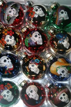 Day of the Dead ornaments