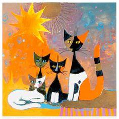 superbes chats en peinture                                                                                                                                                                                 Plus