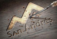logotipo para san andres tuxtla hecho por la agencia de publicidad  marketing diseño gráfico y paginas web en veracruz, link diseño e imagen