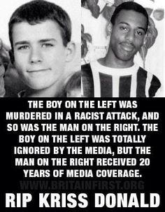 white lives matter | StopWhiteGeNOcide — White lives matter too. Anti-racist is code-word ...