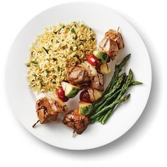 Kraft Anything Dressing : Mix-and-Match Kabobs