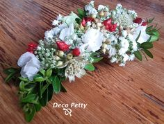 Un pasador muy cuco para una novia feliz. DecoPettydebodas16.Encuentralo en www.pettyperezmanglano.com
