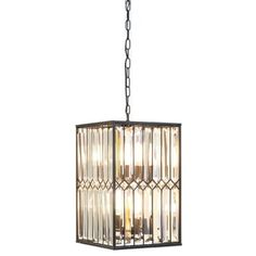 Shop for Kosas Home Manson Iron/Crystal 13-inch Chandelier. Get free shipping at Overstock.com - Your Online Home Decor Outlet Store! Get 5% in rewards with Club O!
