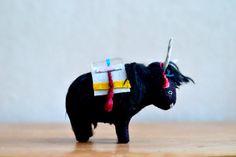 yak soft sculpture by MountRoyalMint on Etsy
