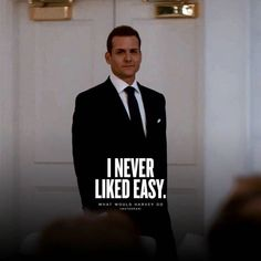 Trajes Harvey Specter, Harvey Specter Suits, Suits Harvey, Boss Quotes, Me Quotes, Motivational Quotes, Inspirational Quotes, Rich Quotes, Qoutes