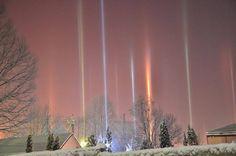 Amazing Pictures of Light Pillars – Fubiz Media