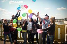 Team Building, Budapest, Balloons, Creative, Fun, Pictures, Photos, Balloon, Resim