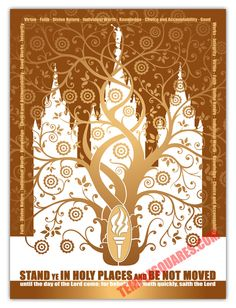 LDS Young Women Theme 2013 Poster. Very pretty.