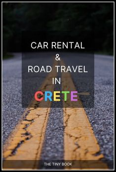 Smart Guide to Driving in Crete (+ Car Rental Tips) Mykonos Greece, Crete Greece, Athens Greece, Santorini, Cool Places To Visit, Places To Travel, Travel Destinations, Greek Isles, Greece Islands