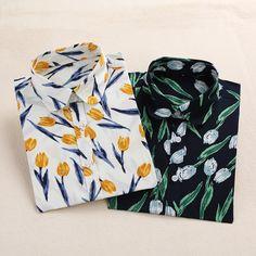 Dioufond bloemen vrouwen shirts blouses vintage print lange mouwen vrouwen tops katoen dames blusas mode plus size 5xl clothing