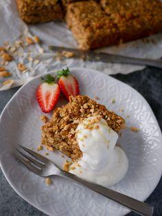 SAFTIG OG ENKEL FROKOSTKAKE - Bakekona Waffles, Pie, Breakfast, Desserts, Food, Torte, Morning Coffee, Tailgate Desserts, Cake
